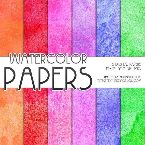 Free-digital-scrapbooking-paper- Water-Color