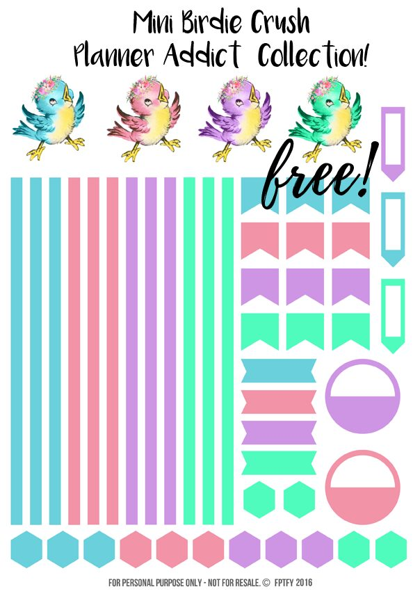Free Mini Planner Pritnables-FPTFY-1