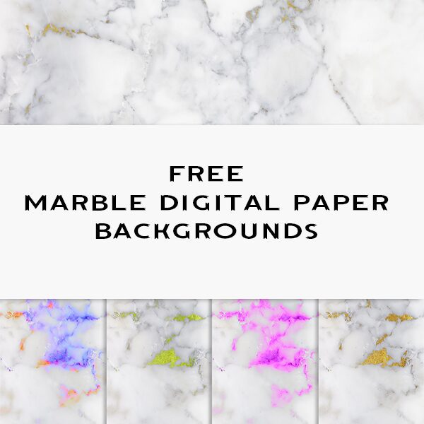 Free Marble Digital Paper Backgrounds