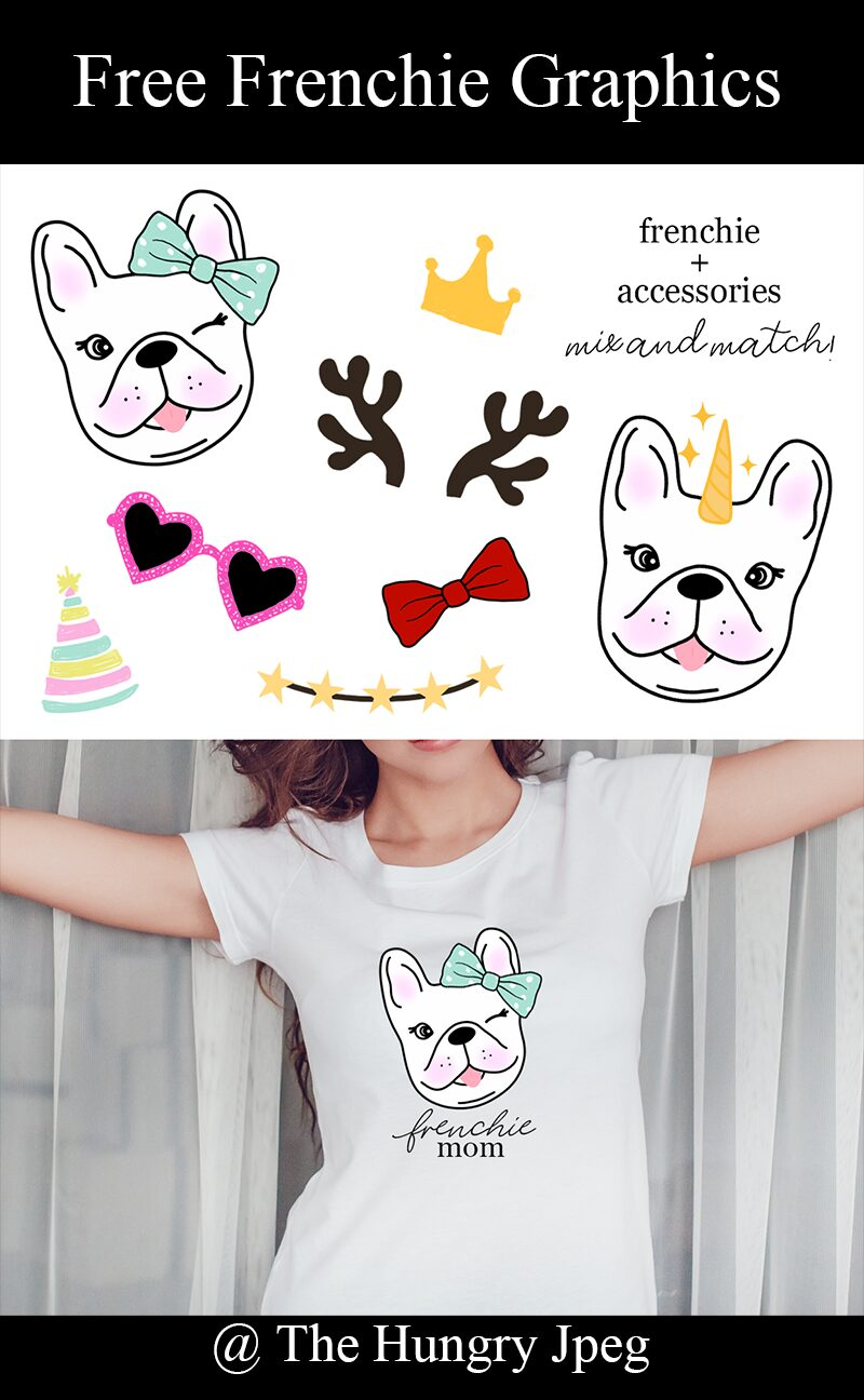 Free Frenchie Graphics and Accessories